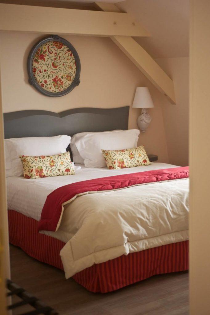 Hotel des trois chateaux - chambre - design R.Clévier