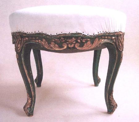 Tabouret baroque