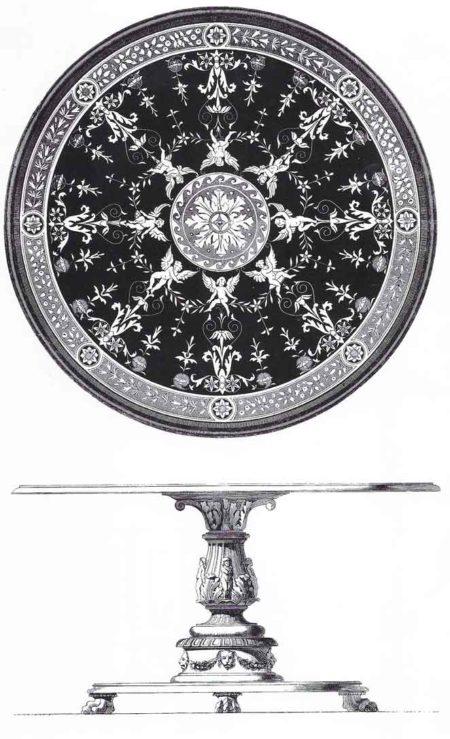 Motif XIXème siècle