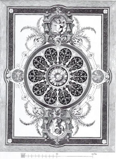 Plafond XIXème siècle