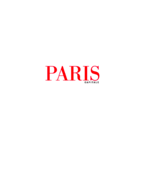 logo du magazine Paris Capitale